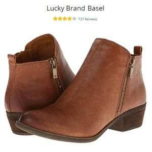 Lucky Brand Basel Ankle Bootie